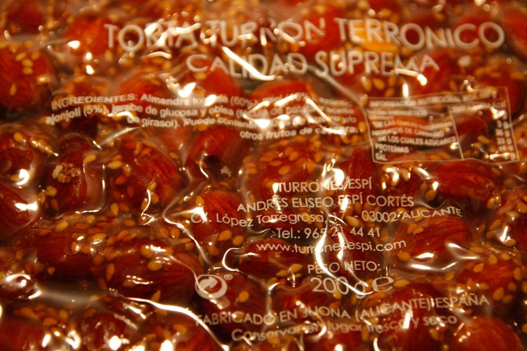 Turrón Terronico - Turrones Espí