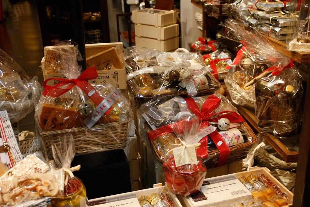 Lotes, selección de productos - Turrones Espí Alicante
