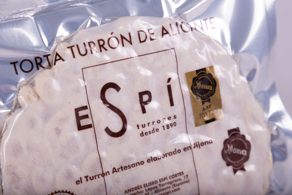 Torta de Turrón de Alicante -Turrones Espí