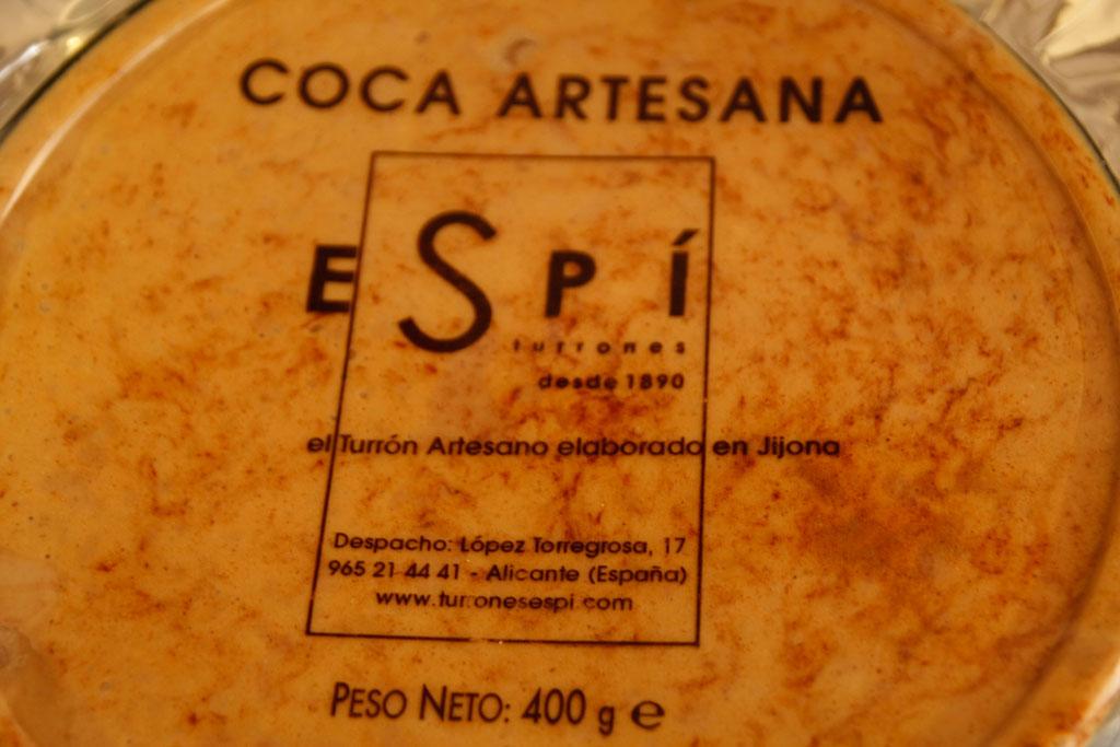 Turrón a la piedra de Avellanas - Turrones Espí Alicante
